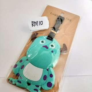Silicon Luggage Tag ( monster inc)
