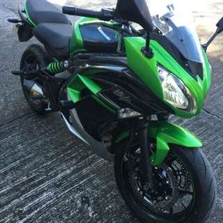 Ninja 650 2016 very low mileage