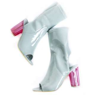 Miss Guided Perspex Boots