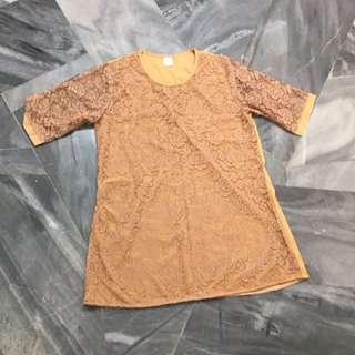 Little Lace Dress for Plus Size