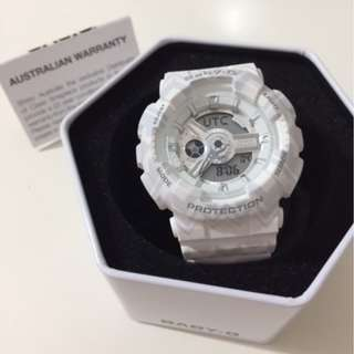 Casio Baby-G White Tribal Pattern Limited Edition Watch