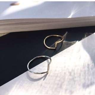 🚚 Ring.簡約不規則線條戒指
