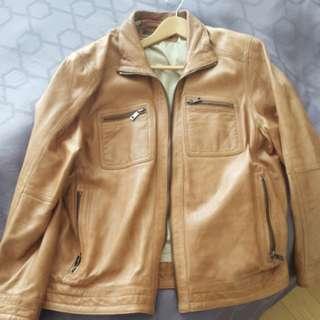 Vintage brown leather jacket for sale