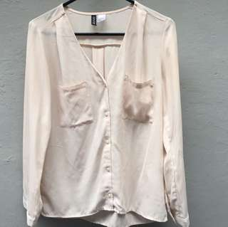 Pink Light Blouse by Divided H&M