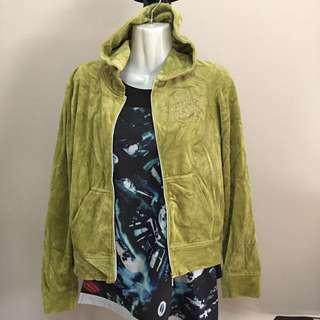 Cool juicy couture jacket green