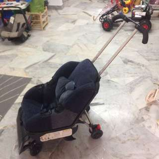 Carseat cum stroller 2in1