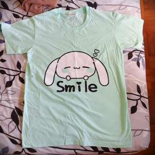 cute mint graphic cinnamoroll t shirt