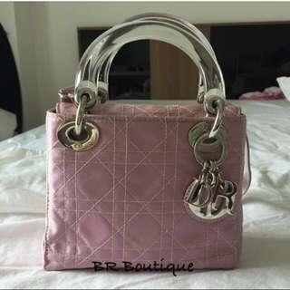 Authentic Christian Dior Mini Lady Dior Bag