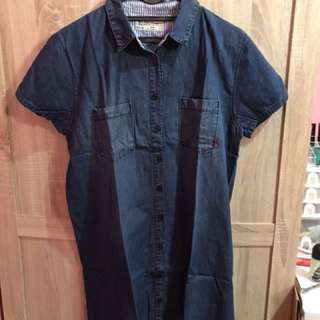 Dress kemeja hush puppies