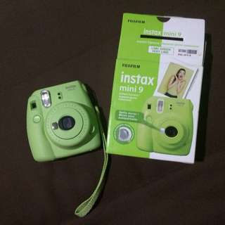 Instax Mini 9 (lime green)
