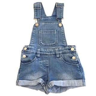 Denim Overalls Size 1 Year