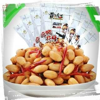 🎉🎉🎉 黃飛紅麻辣花生堅果休閒零食小吃下酒菜210g
