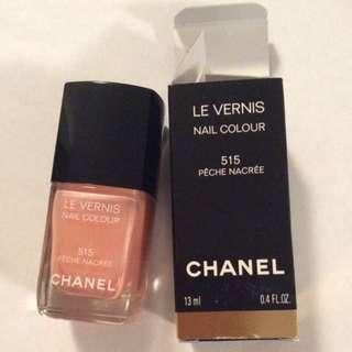 Chanel le vernis nail polish- 515 pêche nacrée