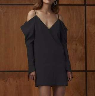 C/meo collective cold shoulder dress