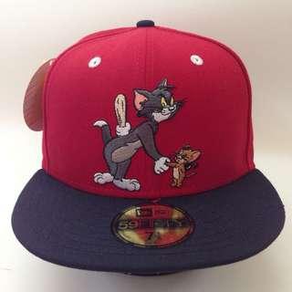 未剪牌 Tom & Jerry 全新 New Era Cap 帽