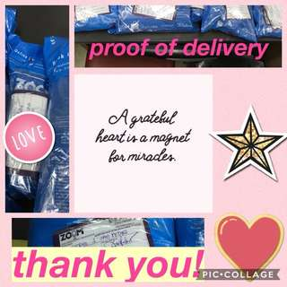 Awesome! Proof of Delivery! Thank You!