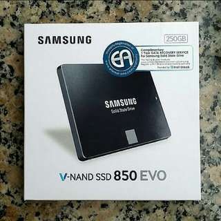 250GB SSD Samsung Evo