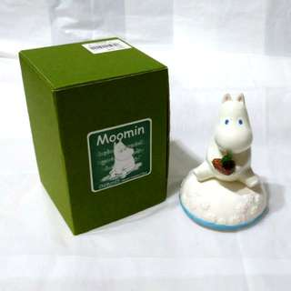姆明 陶瓷 音樂盒 罕有 絕版 日本 Moomin ceramic music box