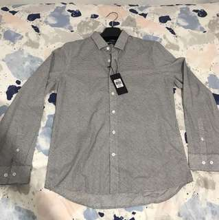 Macbeth long sleeve button up