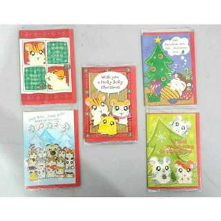 Christmas Card Hamtaro (Harvest)