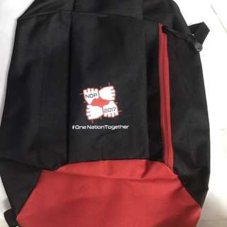 National Day Mini Black Back Pack