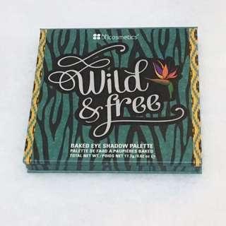 🚚 BH Cosmetics Baked Eye Shadow Palette # Wild Free