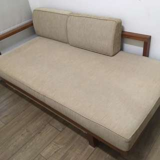 詩肯柚木 沙發床