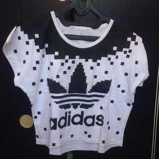 crop top / tee tumblr : Adidas