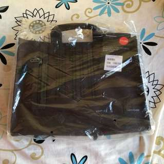 Samsonite laptop bag brown brand new