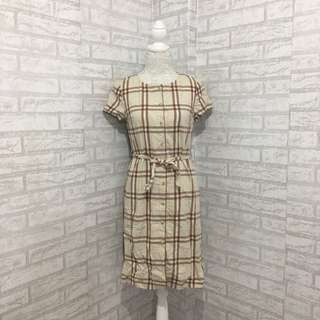Checkered US Polo Dress