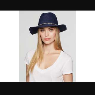 Genie's Billie Navy Wide hat, one size