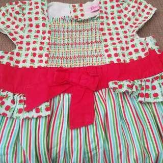 Dress cantik 2-3 tahun😘
