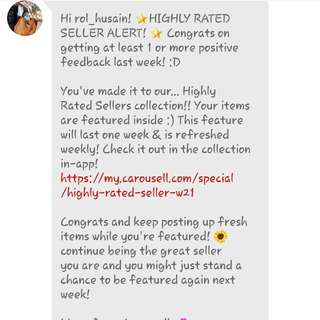 High Rated Seller! TQ