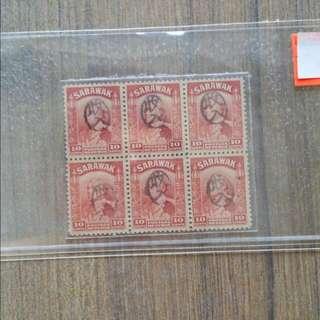 Sarawak Mint Blk Of 6