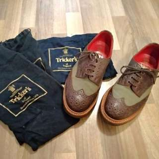 Tricker's Trickers Of England JUNYA WATANABE COMME DES GARCONS MAN Genuine Goodyear Welt Cdg (Off White Givenchy Chanel Whites Lewis)