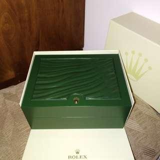 ROLEX watch gift box
