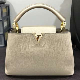 LV Cuppucine in Taupe