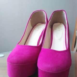 NSBWZ heels pink fanta