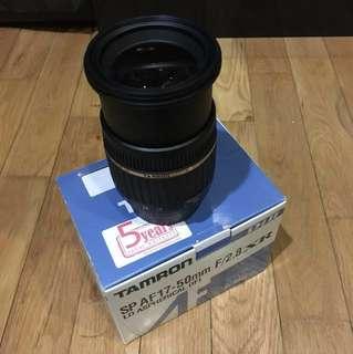 Tamron SP AF17-50mm F/2.8 XR (Nikon mount)