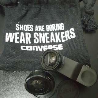 Converse電話鏡頭(魚眼&廣角鏡)