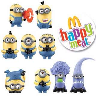 Despicable Me 2 Macdonalds Happy Meal Toy