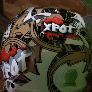 Motorcycle helmet for kids