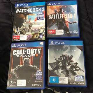 Used New & Old Video Games