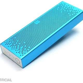Xiaomi blue bluetooth speakers