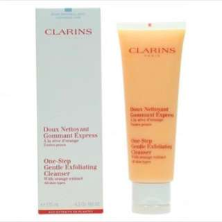 Clarins one-step cleanser