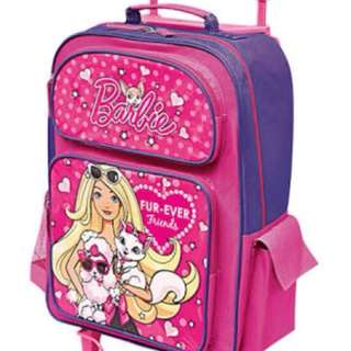 Barbie Glam Girl Trolley Bag