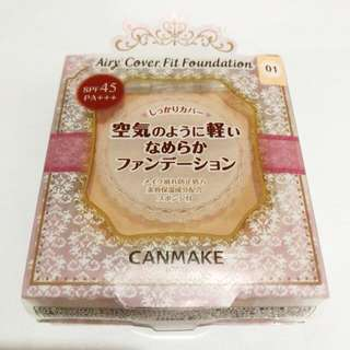 Canmake Airy Cover Fit Foundation 輕薄絲滑粉底