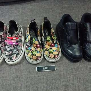 Kids Original Vans & Adidas Shoes