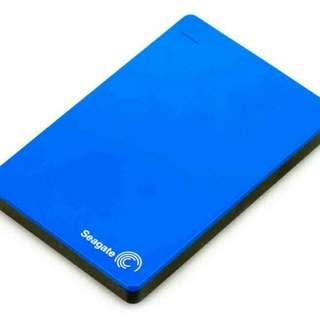 Seagate Hard drive 1TB Color: Blue