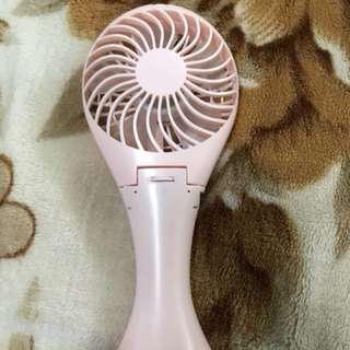 Rechargeable portable fish fan